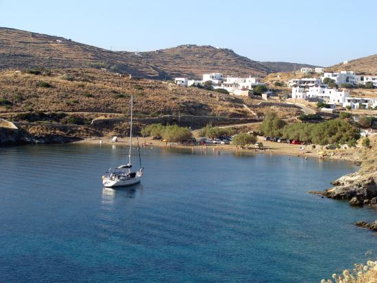 Sifnos, Yunanistan: Παραλία Φασολού.
