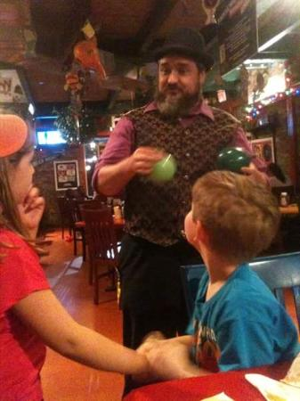 Niffer's Place: Balloon man