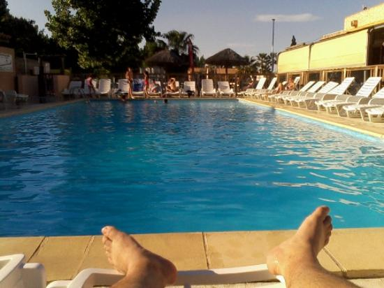 Camping La Marine: Une des 3 piscines du camping