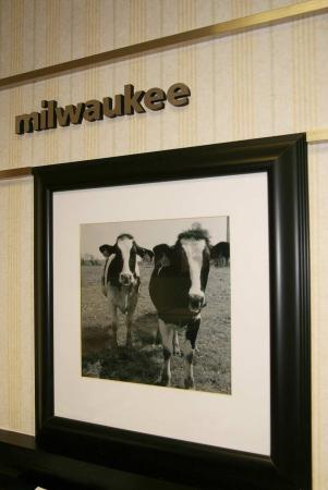 Hampton Inn Milwaukee Northwest: Welcome