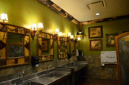 cool bathrooms. Bass Pro Shops: Cool Bathrooms (what Branson Is Known For)