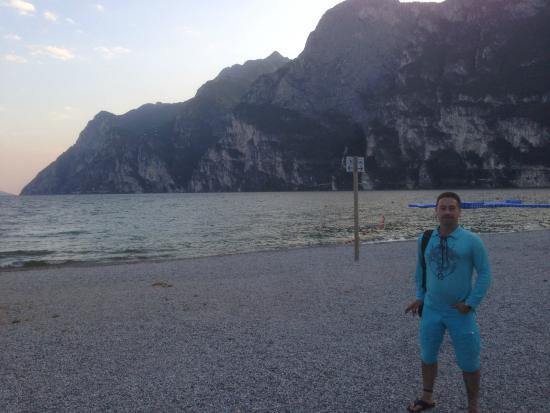 Ristorante Bellariva: Vue depuis la terrasse du resto