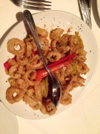 Fleming's Prime Steakhouse & Wine Bar: Calamari