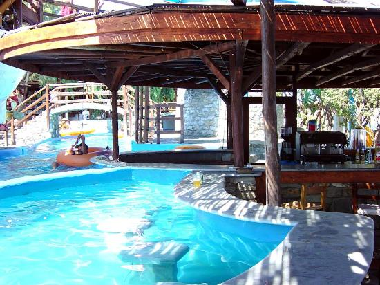 Naoussa, Grecia: Bar Aqua Water park - Paros