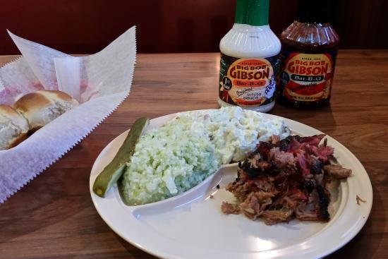 Big Bob Gibson's Bar-B-Que: Big Bob Gibson's pulled pork