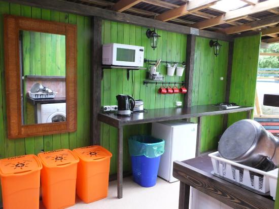 Camping Zanzibara: Kitchen