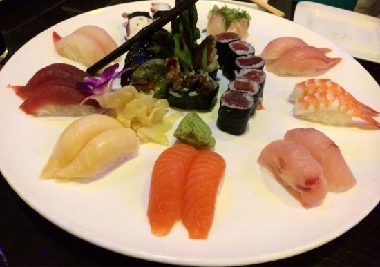 Osaka Seafood Steakhouse: Sushi for two
