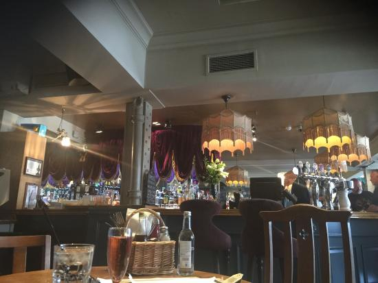 The Trafalgar : A very traditional English eclectic gastropub. Different from ones on the high street. They seem
