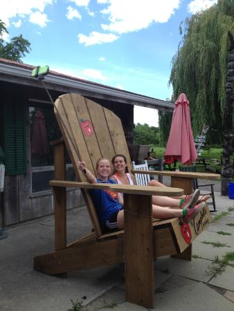 C&bellu0027s Orchards Take a selfie in our giant adirondack chair  sc 1 st  TripAdvisor & Take a selfie in our giant adirondack chair - Picture of Campbellu0027s ...