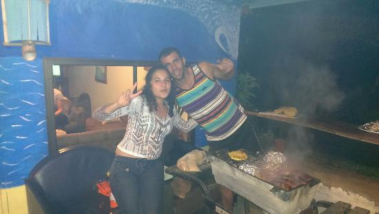 Monteverde Backpackers: Hostelowners Johanna and Alonso (great guys ;) )