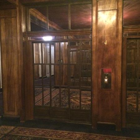 hotel elevator doors. hotel whitcomb: well hidden elevator doors r