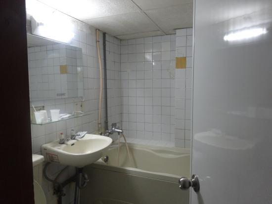 Lion City Hotel: 浴室