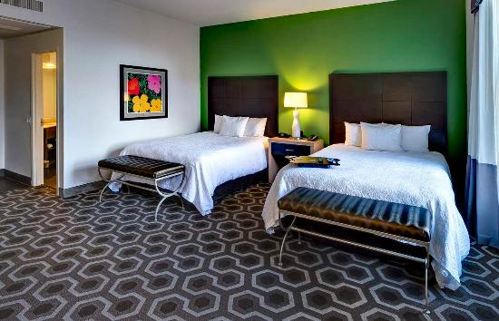 Hampton Inn & Suites New Orleans Downtown (French Quarter Area): Studio Queen