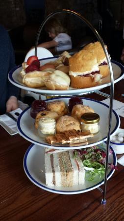 Absolutely lush! Afternoon tea