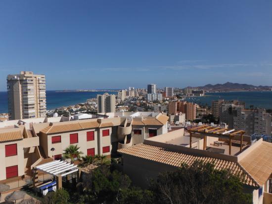 Los Delfines Hotel: celkový pohled na La Mangu