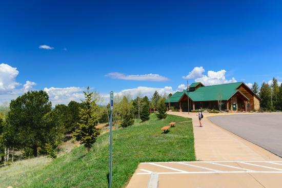 Divide, CO: Visitor Center, Mueller State Park
