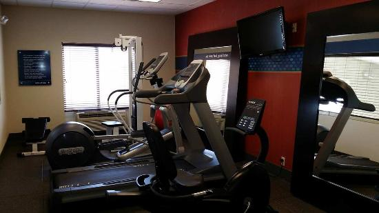Hampton Inn & Suites Roswell : Fitness Center