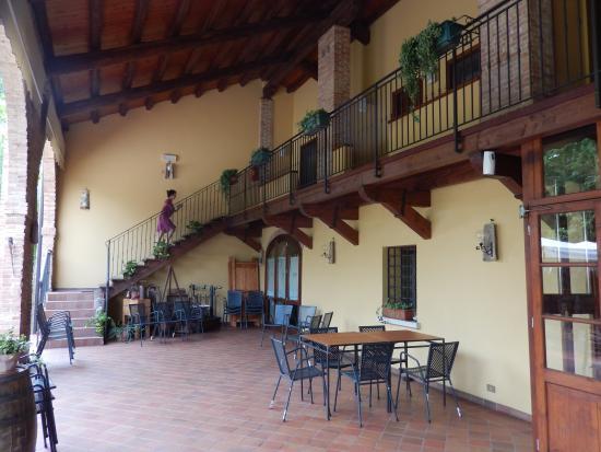 Salboro, Italië: de kamers in het hoofdgebouw