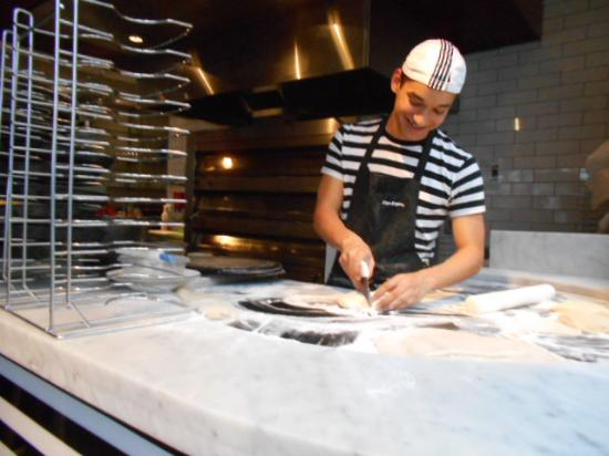 Chef Preparing Pizza Picture Of Pizza Express Chelmsford