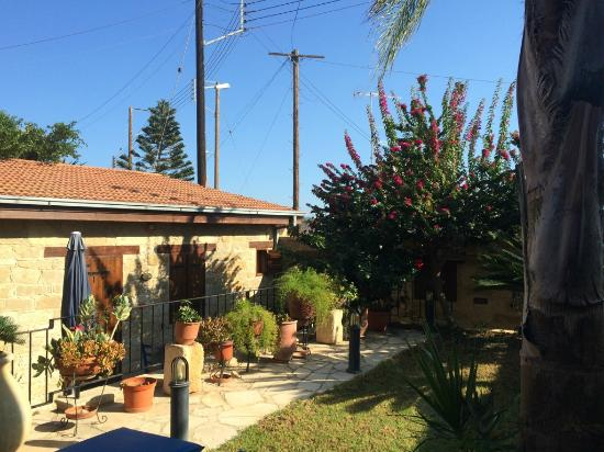 Niki's House : Уютный сад во дворе