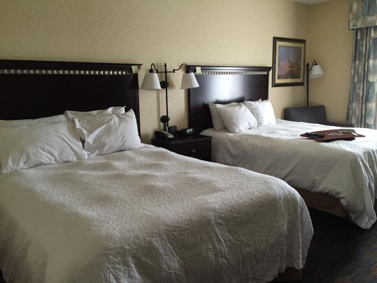 Hampton Inn Roanoke Rapids: Beds