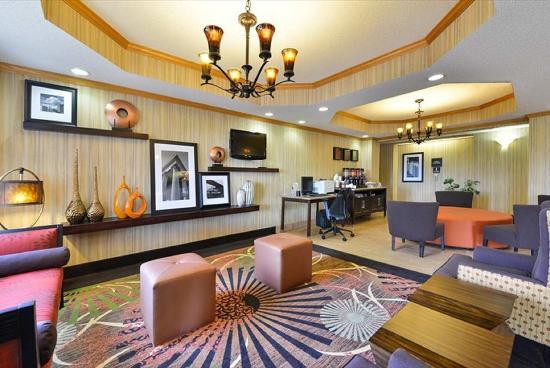 Sturgis, ميتشجان: Lobby Seating
