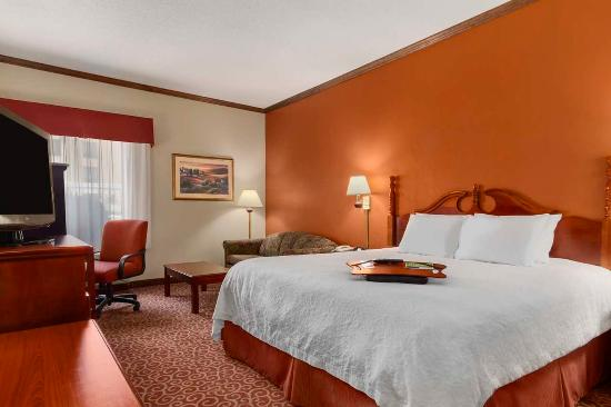 Hampton Inn Forrest City : King Bedroom Study