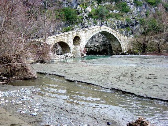 Γεφύρι Πορτίτσας (Stone bridge Portitsa - Grevena)