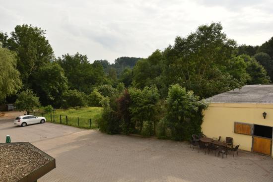Hotel & Reitsportzentrum Kreuth: View from room