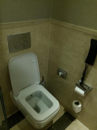bidet toilet combo fotograf a de ramada plaza istanbul tekstilkent estambul tripadvisor. Black Bedroom Furniture Sets. Home Design Ideas