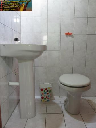 Banheiro Suite Limão Foto De Pousada Chale Pau Brasil