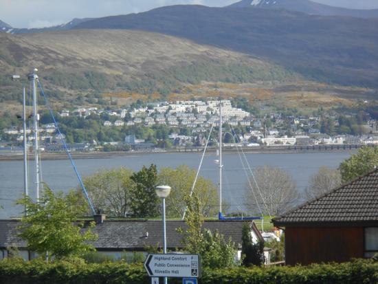 Ben Nevis View: Aussicht auf Ben Nevis und Loch Linnhe