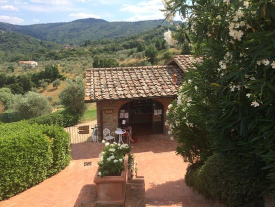 Fontebussi Tuscan Resort : Pool bar