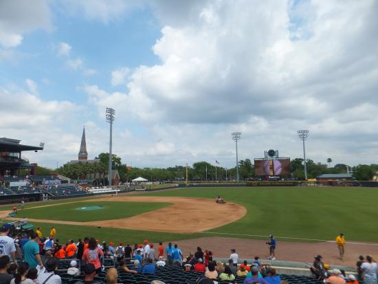 Baseball Grounds of Jacksonville: 球場の風景