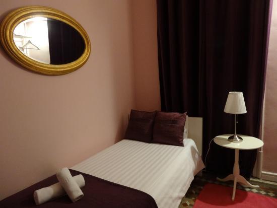 Plaza Catalunya Guest House : シングルルーム