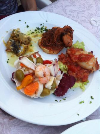 Ristorante Bagno Primavera: Grande cucina di pesce di alta classe!! Tutto super buono!!!