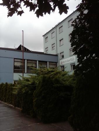 Technikerhaus: from outside