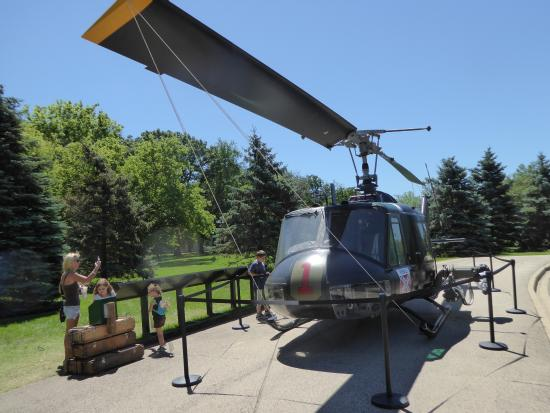 Vietnam War Huey helicopter - Picture of Cantigny Park, Wheaton ...