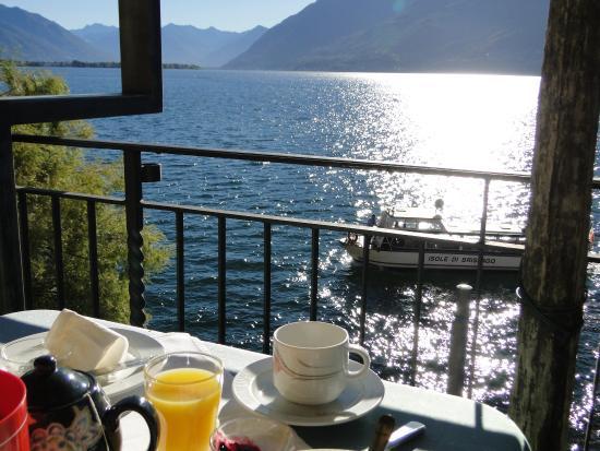 Posta al Lago: beim Frühstück