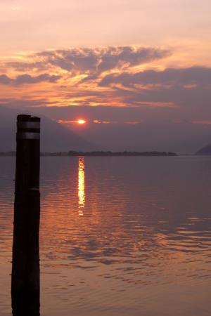 Posta al Lago: Sonnenaufgang