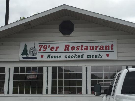 79er Restaurant: 79ers off of exit 79 on interstate 79
