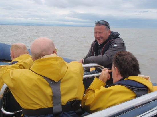 Cardiff Sea Safaris: having a guide to explain what we were looking at was amazing