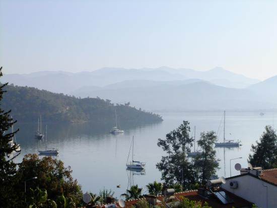 Duygu Pension: view from the terrace