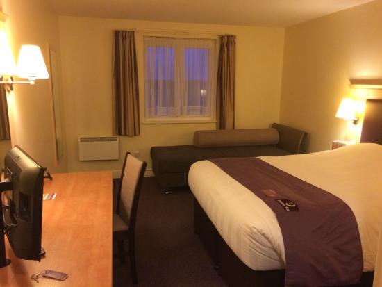 Premier Inn Northampton Bedford Rd/A428 Hotel: Upon arrival