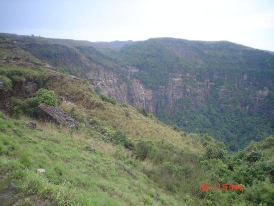 Cherrapunjee, Indie: Falls.