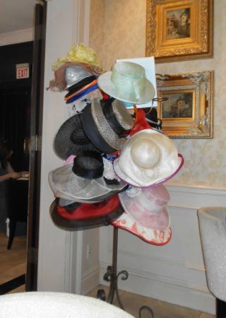 71656286bcd Windsor Arms Tea Room  Fancy hats for rent
