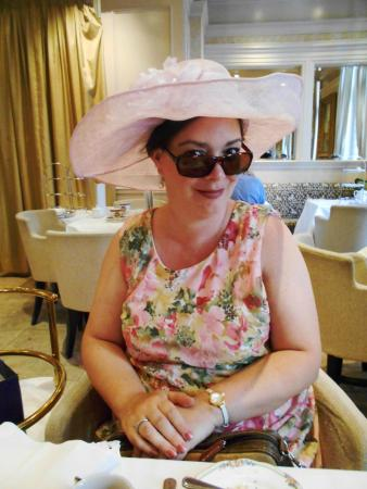 d0255145b37 Enjoying a fancy hat! - Picture of Windsor Arms Tea Room