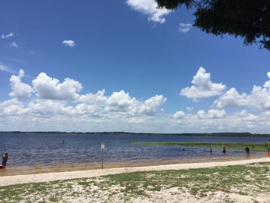 Clermont, FL: View from Lake Minneola