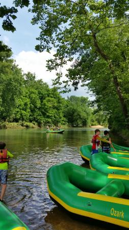 Ozark Outdoors: Huzzah River float