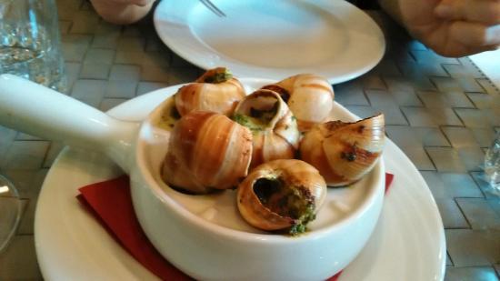 La Brasserie: Escargots de Bourgogne